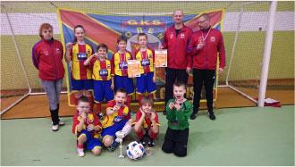 Drużyna piłki nożnej - GKS Morena